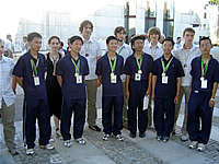 Slovenian and Chinese team